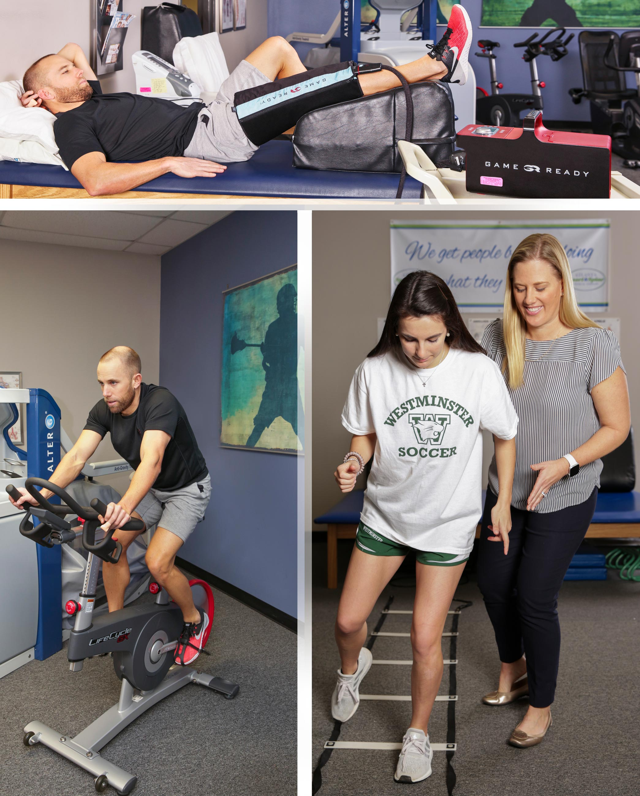 Sport Training is taken seriously at Atlanta Sport and Spine