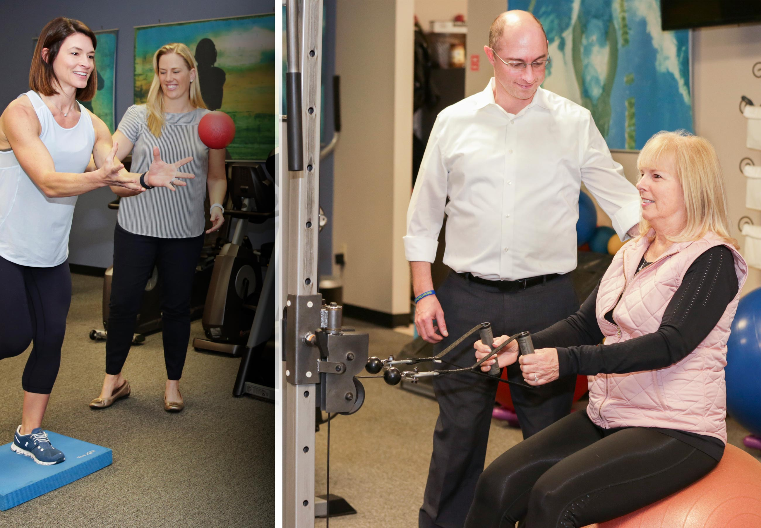 With Physical Therapy we focus on relieving your pain, promoting healing, restoring function, and preventing re-injury
