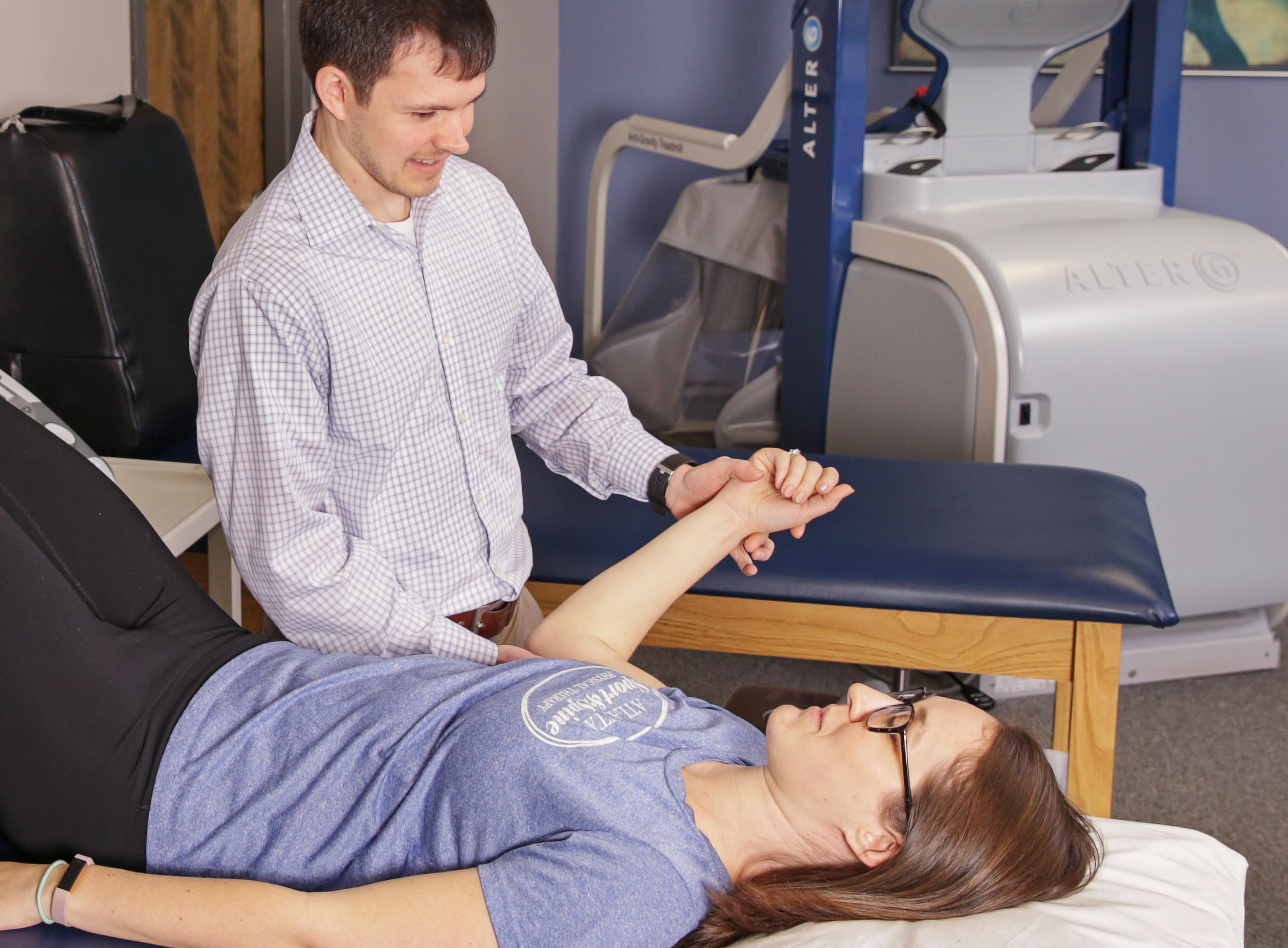 We specialize in customized physical therapy