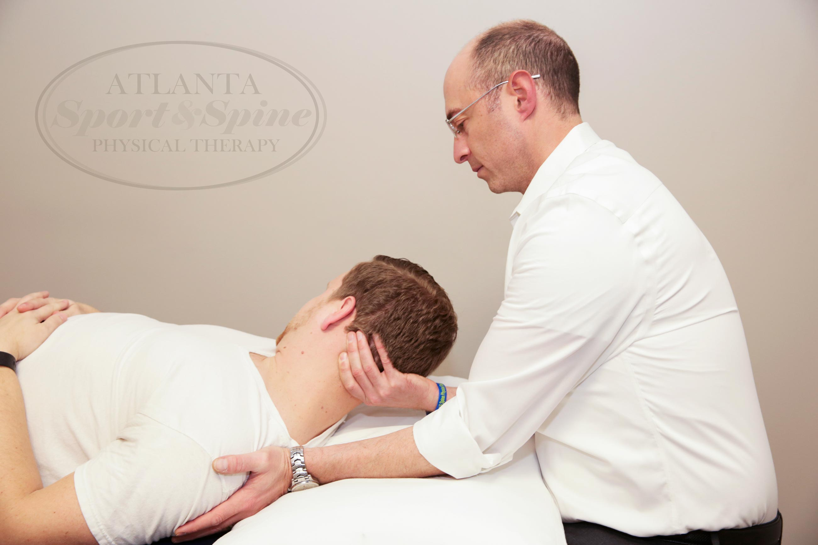 physical therapy will help any muscular discomfort
