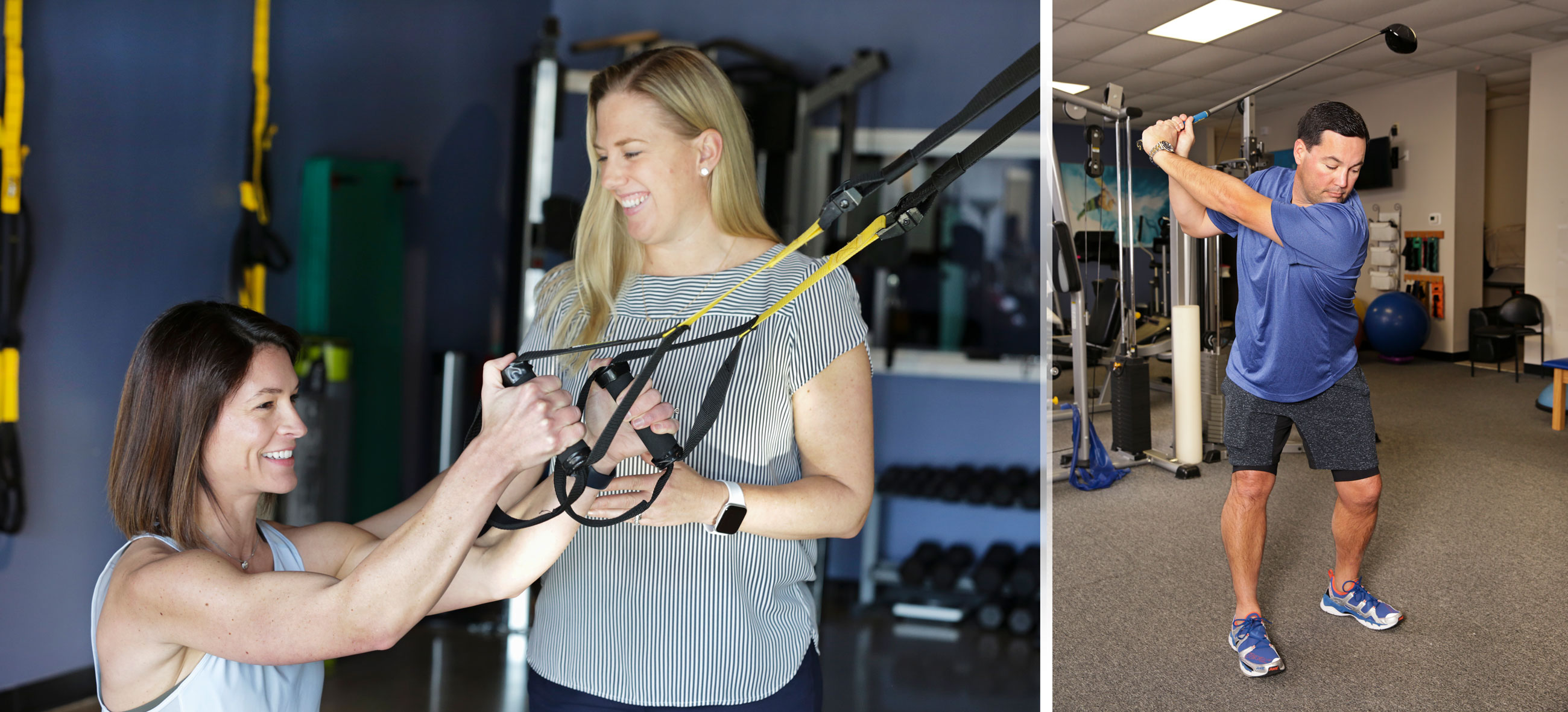 Atlanta Sport and Spine Physical Therapist working to get patients back to doing what they love